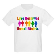 Love Deserves Equal Rights T-Shirt
