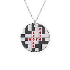 Crossword Nerd Necklace