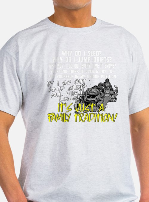 Snowmobile Family Tradition T-Shirt