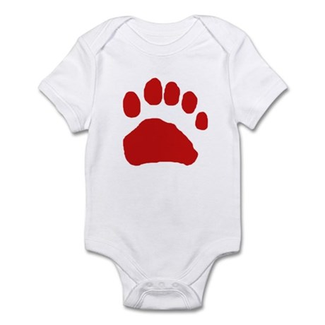 Real Bear Track Tracing Infant Bodysuit