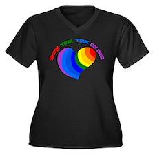 Show Your True Colors Plus Size T-Shirt