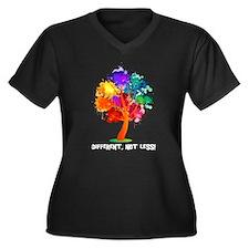 Different Not Less Plus Size T-Shirt