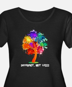 Different Not Less Plus Size T-Shirt