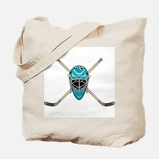 STICKS AND HELMET Tote Bag