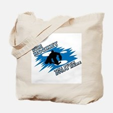PUCK STOPS HERE Tote Bag