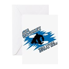 PUCK STOPS HERE Greeting Cards (Pk of 10)