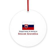 Slovak Grandma Ornament