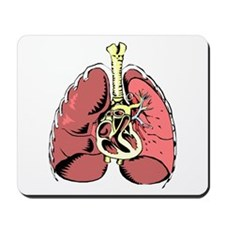 Lungs Mousepad