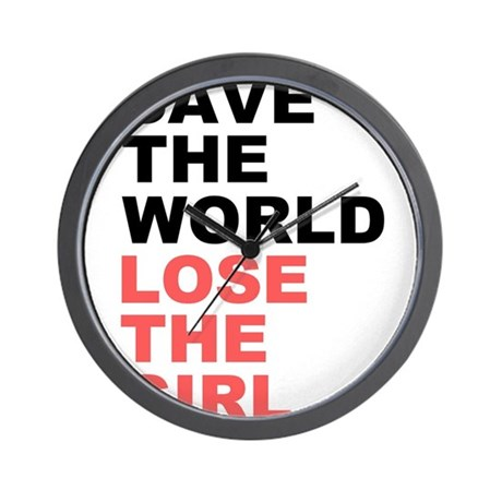 Save The World... Wall Clock