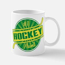 #1 Hockey Aunt Small Small Mug