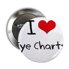 """I love Eye Charts 2.25"""" Button"""