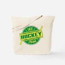 #1 Hockey Aunt Tote Bag