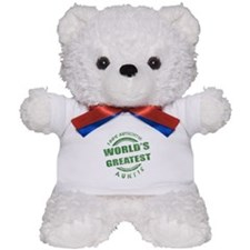 100% Authentic Auntie Teddy Bear