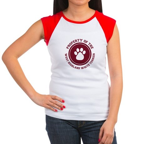 West Highland White Terrier Women's Cap Sleeve T-S