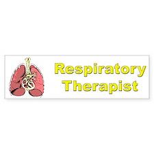 Respiratory Therapist Bumper Bumper Sticker