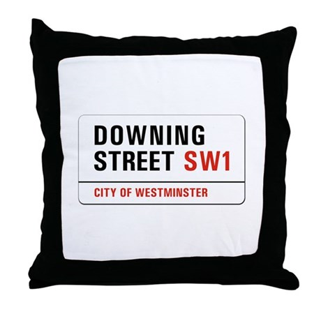 Downing Street, London - UK Throw Pillow