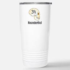 Three Percent Neanderthal Travel Mug