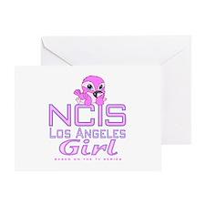 NCIS LA Girl Greeting Card