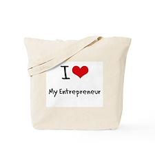I love My Entrepreneur Tote Bag