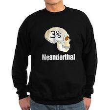 Three Percent Neanderthal Sweatshirt
