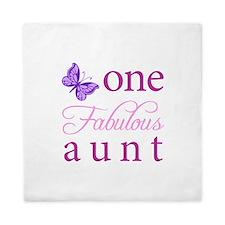 One Fabulous Aunt Queen Duvet