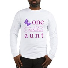 One Fabulous Aunt Long Sleeve T-Shirt