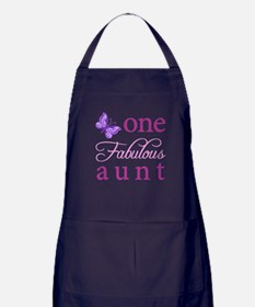One Fabulous Aunt Apron (dark)