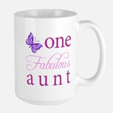 One Fabulous Aunt Large Mug