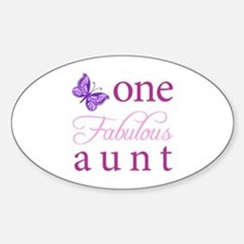 One Fabulous Aunt Decal