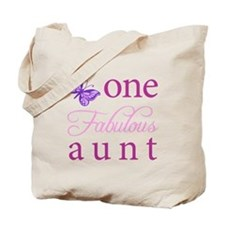 One Fabulous Aunt Tote Bag