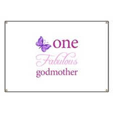 One Fabulous Godmother Banner