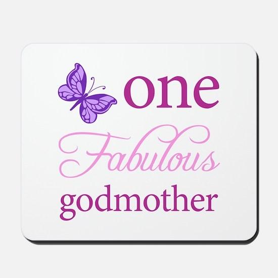 One Fabulous Godmother Mousepad