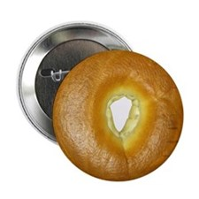 "A Scrumptious, Delicous, Amazing Bagel 2.25"" Butto"
