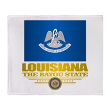 Louisiana Pride Throw Blanket