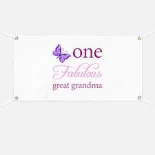 One Fabulous Great Grandma Banner