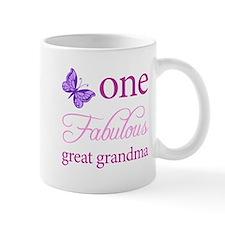 One Fabulous Great Grandma Mug