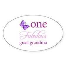 One Fabulous Great Grandma Decal