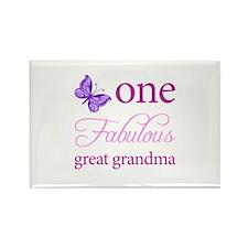 One Fabulous Great Grandma Rectangle Magnet