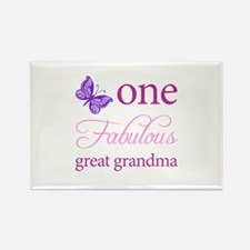 One Fabulous Great Grandma Rectangle Magnet