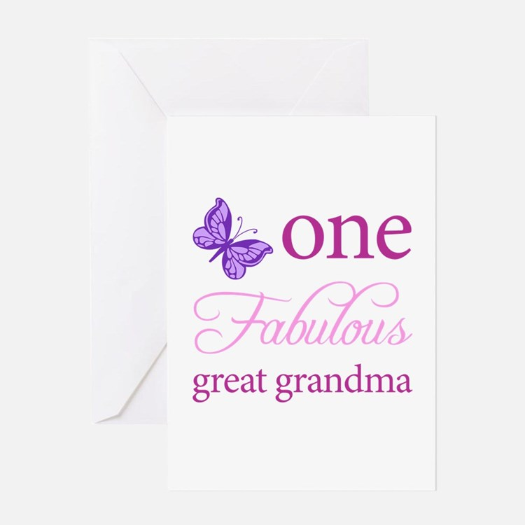 Great Grandma Greeting Cards