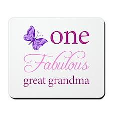 One Fabulous Great Grandma Mousepad