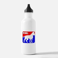 Major League Pit Bull Dog Water Bottle