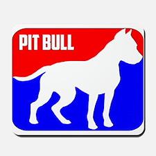 Major League Pit Bull Dog Mousepad