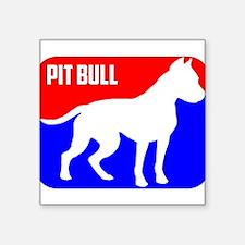 Major League Pit Bull Dog Sticker