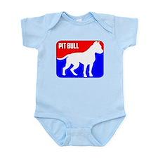 Major League Pit Bull Dog Body Suit