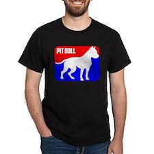 Major League Pit Bull Dog T-Shirt