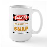 Gingersnap Large Mugs (15 oz)