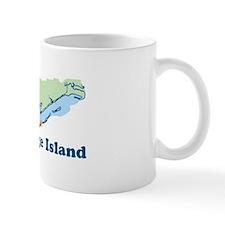 St. George Island - Map Design. Mug