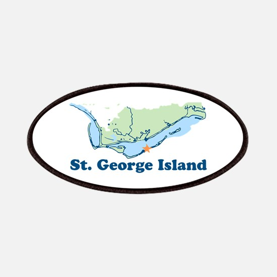 St. George Island - Map Design. Patches