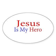 Jesus is my Hero Decal